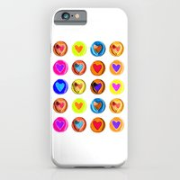 iPhone & iPod Case featuring Hearts by Dimitris Silversun