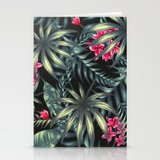 Tropical Leave Pattern 9… Stationery Cards