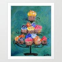 Sweet Cakes Art Print