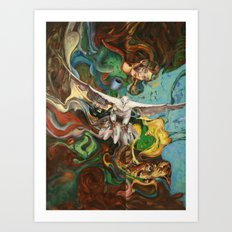 Freedom (original) Art Print