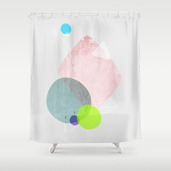 Graphic 123 Shower Curtain