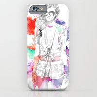 iPhone & iPod Case featuring Top Shop Runway by Camis Gray