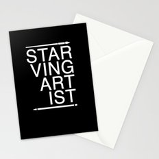 Starving Artist Stationery Cards