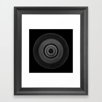 Demi-Stock Black Piece 1 Framed Art Print