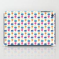Fish Bowl Flowers iPad Case