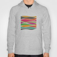 Abstract color waves Hoody