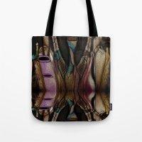 Abstract Jugs Tote Bag