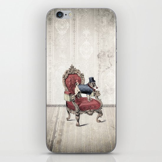 The Imperial Pug iPhone & iPod Skin