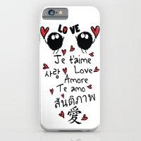 Love In Many Language iPhone 6 Slim Case