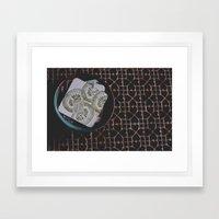 coasters Framed Art Print