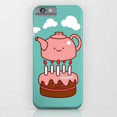tea with cake iPhone 6s Slim Case