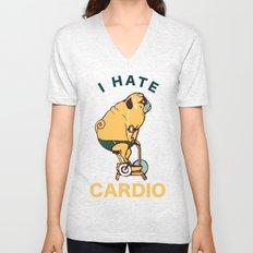 I Hate Cardio Unisex V-Neck