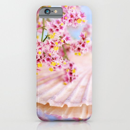 PINK SEA SHELL DREAM iPhone & iPod Case
