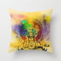 Brahma Throw Pillow