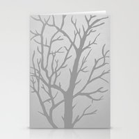 Misty Tree Stationery Cards