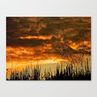 Goodbye Daylight Canvas Print