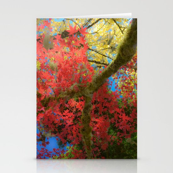 Fall Colors at Crescent Lake Lodge, 2 Stationery Card