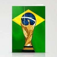Brazil 2014 Stationery Cards