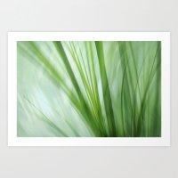 Dancing Grasses Art Print