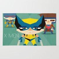X Men fan art Rug