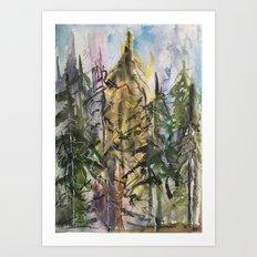 Sunday Valley Art Print