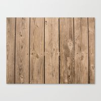 Wood I Canvas Print