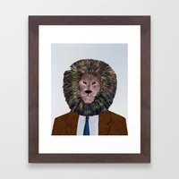 Uncle Leo's Portrait Framed Art Print