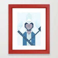 Connor / Assassins Creed Framed Art Print