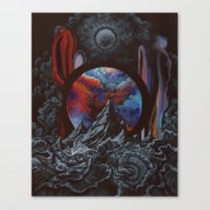 Canvas Print featuring I Found You In A Sea Of … by Anthony Hurd