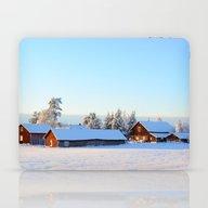 November Afternoon In Sw… Laptop & iPad Skin