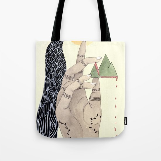 Hand to Home Tote Bag