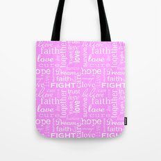 Breast Cancer - Pink Tote Bag