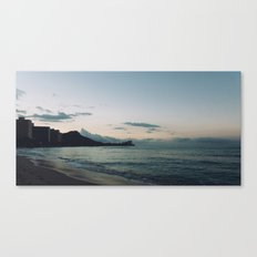 beach-morning 04 Canvas Print