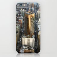 iPhone & iPod Case featuring New York from the top by Clara Ungaretti