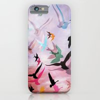 iPhone & iPod Case featuring Feed the Birds by Laura Santeler