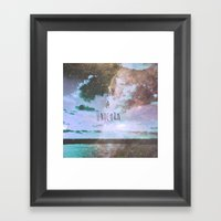 unicorn tears Framed Art Print