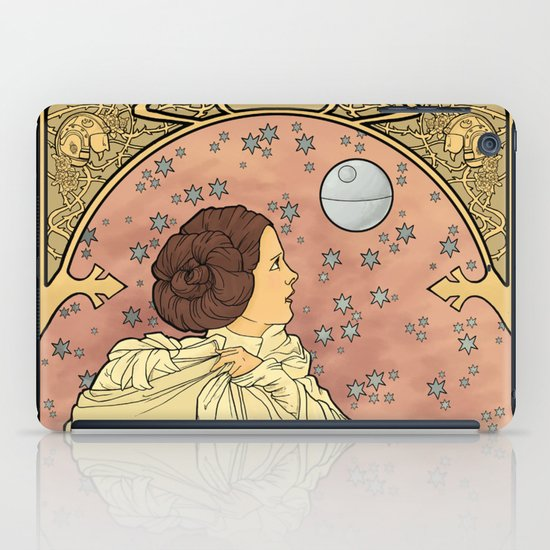 La Dauphine Aux Alderaan iPad Case