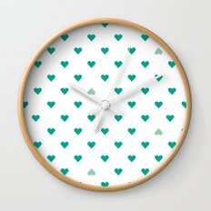 bleating hearts Wall Clock