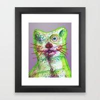 Dirty Bear Framed Art Print