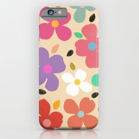 iPhone & iPod Case featuring Dogwood Vintage by Garima Dhawan