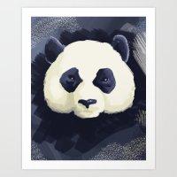 Panda Go Panda Art Print