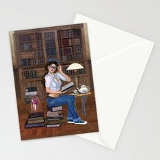 Lost in Literature Stationery Cards