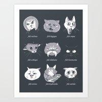 LOLcat Taxonomy Art Print