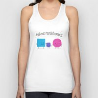 Look Ma', Rounded Corner… Unisex Tank Top
