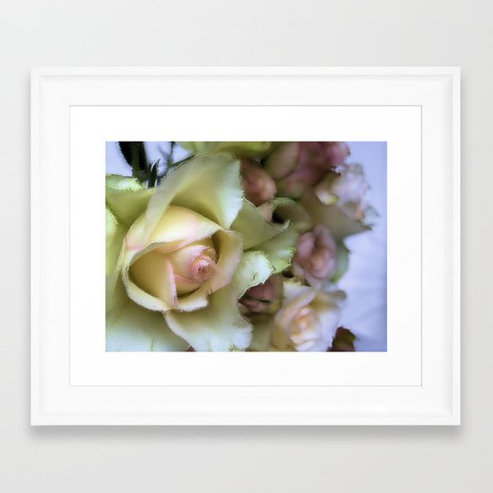 DREAMER (champagne rose) Framed Art Print