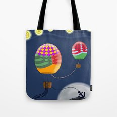BALLOON NIGHT Tote Bag