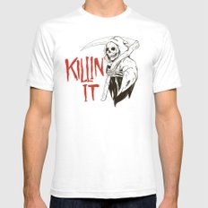 Killin It SMALL White Mens Fitted Tee