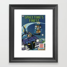Spacetime's Finest No. 1 Framed Art Print