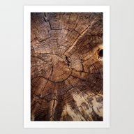 Knock On Wood Art Print