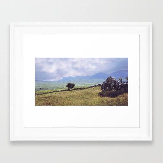 Rural Ruin Framed Art Print